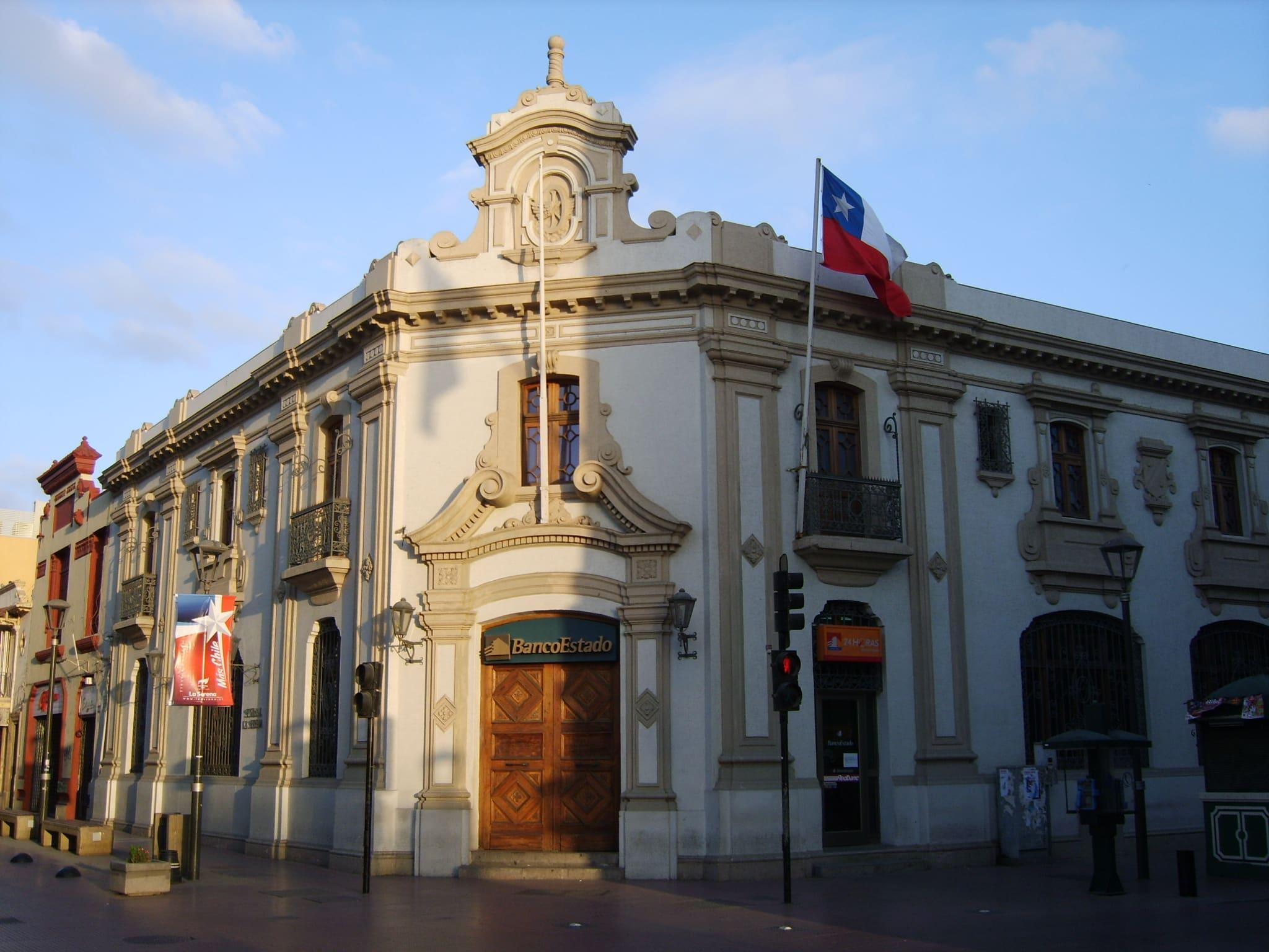 Facha del BancoEstado de Chile