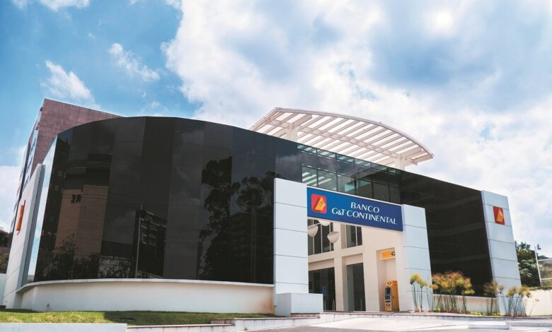 Banco G&T Continental ≫ Banca electrónica y agencias